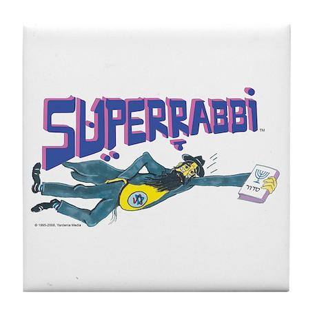 Superrabbi Tile Coaster