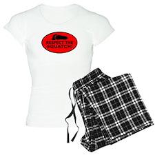 Red RESPECT THE SQUATCH! Pajamas