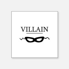 """villaincards.png Square Sticker 3"""" x 3"""""""