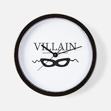 villaincards.png Wall Clock