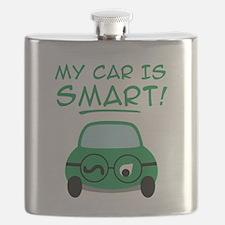 Green Car Flask