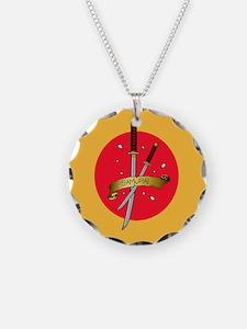 Sakura Samurai Necklace
