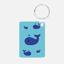 Cute Whale Keychains