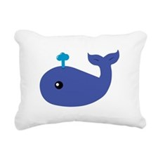 Cute Whale Rectangular Canvas Pillow