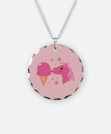 strawberryponycards2.png Necklace Circle Charm