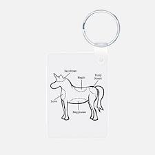Unicorn Parts Keychains