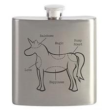 Unicorn Parts Flask