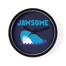 Jawsome Shark Wall Clock