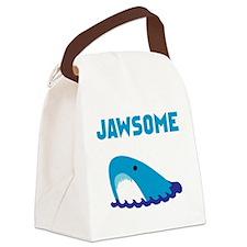 Jawsome Shark Canvas Lunch Bag