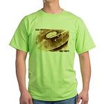 Real Music - Only Vinyl Green T-Shirt