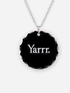 Yarrr Pirate Necklace