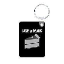 Cake or Death Keychains
