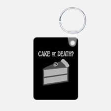 Cake or Death Keychains