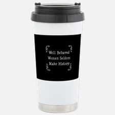 Well Behaved Stainless Steel Travel Mug
