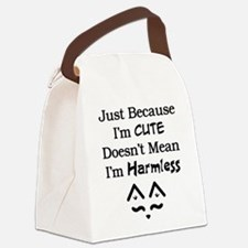 Not Harmless Canvas Lunch Bag