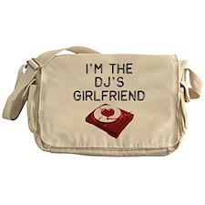 DJ's Girlfriend Messenger Bag