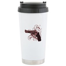 Vicious Pink Gun Travel Mug
