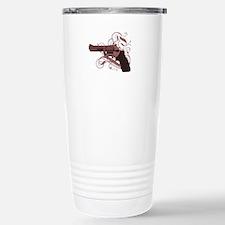 Vicious Pink Gun Travel Mug