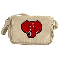 Red Elephant Messenger Bag