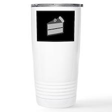 Gloomy Death Cake Travel Coffee Mug