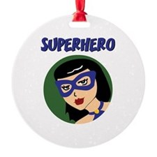 Retro Superhero Susie Ornament