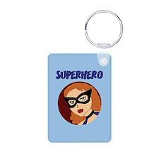 Retro Superhero Betty Keychains