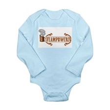 Steampowered Long Sleeve Infant Bodysuit