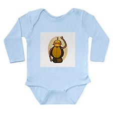 Steambot Long Sleeve Infant Bodysuit