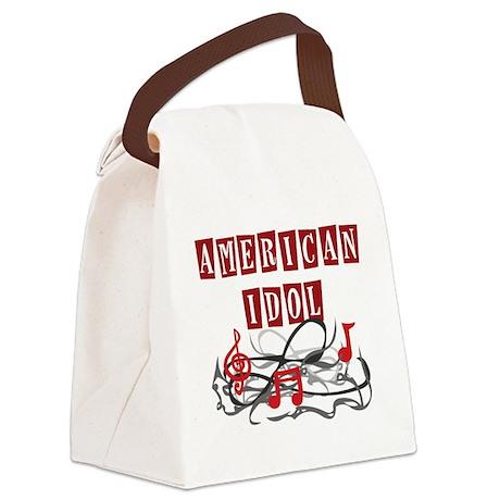 American Idol Classic Canvas Lunch Bag