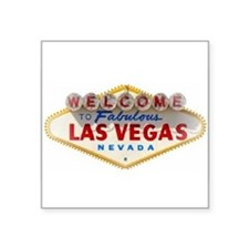 Las Vegas Rectangle Sticker