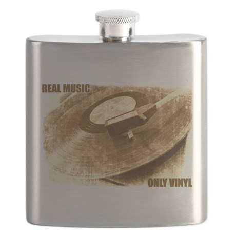Real Music - Only Vinyl Flask