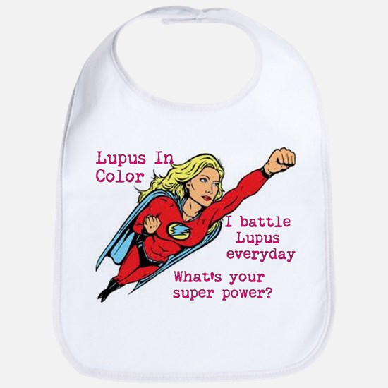 Battling Lupus Bib