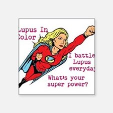 Battling Lupus Sticker