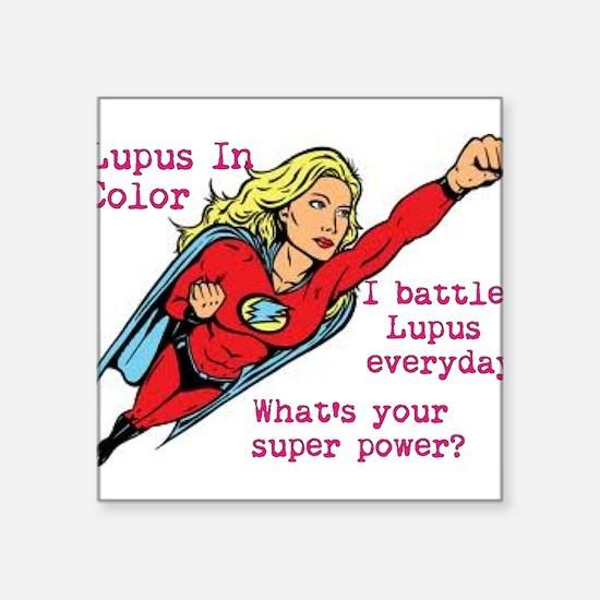 Battling Lupus Sticker