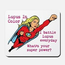Battling Lupus Mousepad