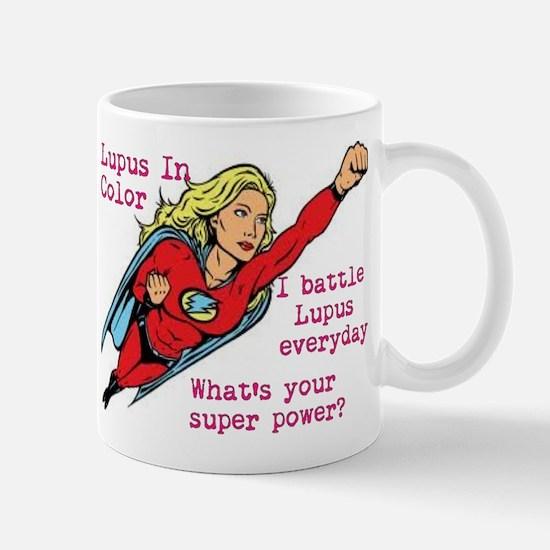 Battling Lupus Mug