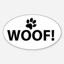 Woof! Decal
