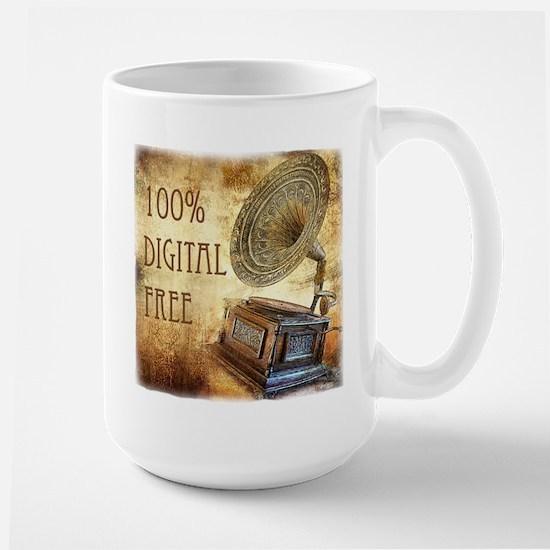 100% Digital Free! Large Mug