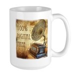 100% Digital Free! Large Mug