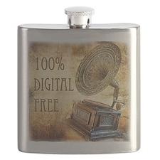 100% Digital Free! Flask