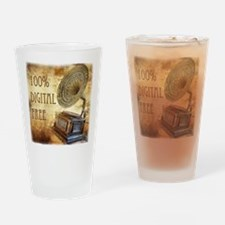 100% Digital Free! Drinking Glass