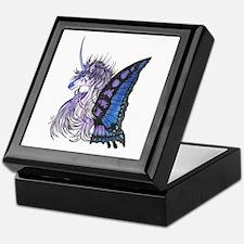 Butterfly Unicorn Keepsake box
