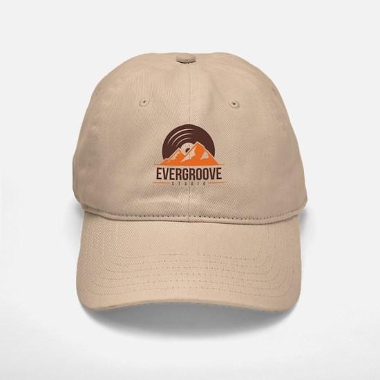 Fitted Baseball Baseball Cap w/ Evergroove Logo