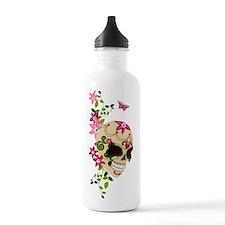 SugarSkullStargazersTall Water Bottle