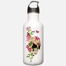 SugarSkullStargazersTall Water Bottle