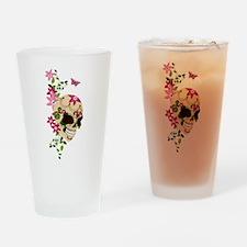 SugarSkullStargazersTall Drinking Glass