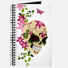 SugarSkullStargazersTall Journal