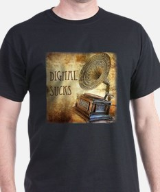 Digital Sucks! T-Shirt