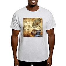 100% Digital Free! T-Shirt