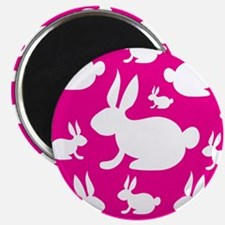 Bunny Rabbit Pattern Magnet